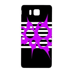 Purple abstraction Samsung Galaxy Alpha Hardshell Back Case