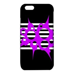 Purple abstraction iPhone 6/6S TPU Case