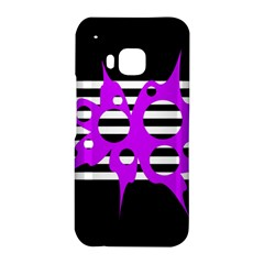 Purple abstraction HTC One M9 Hardshell Case
