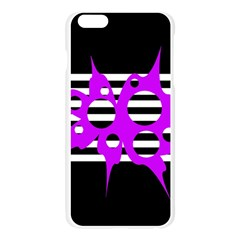 Purple abstraction Apple Seamless iPhone 6 Plus/6S Plus Case (Transparent)