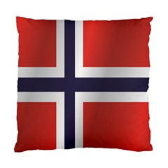 Flag Of Norway Standard Cushion Case (Two Sides)