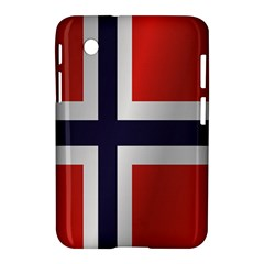 Flag Of Norway Samsung Galaxy Tab 2 (7 ) P3100 Hardshell Case