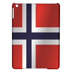 Flag Of Norway iPad Air Hardshell Cases