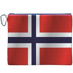 Flag Of Norway Canvas Cosmetic Bag (XXXL)