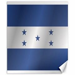 Flag Of Honduras Canvas 8  x 10