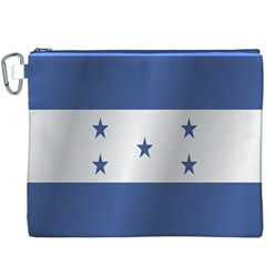 Flag Of Honduras Canvas Cosmetic Bag (XXXL)