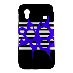 Blue abstract design Samsung Galaxy Ace S5830 Hardshell Case