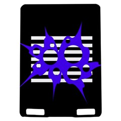 Blue abstract design Kindle Touch 3G