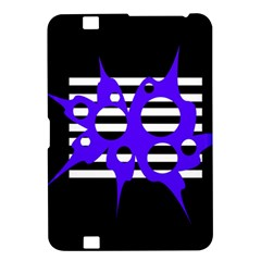 Blue abstract design Kindle Fire HD 8.9