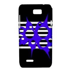 Blue abstract design Motorola XT788