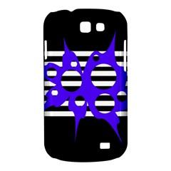 Blue abstract design Samsung Galaxy Express I8730 Hardshell Case