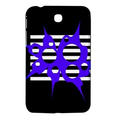 Blue abstract design Samsung Galaxy Tab 3 (7 ) P3200 Hardshell Case