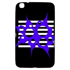Blue abstract design Samsung Galaxy Tab 3 (8 ) T3100 Hardshell Case