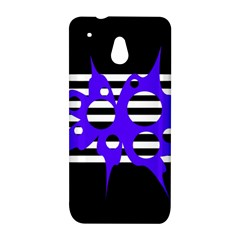 Blue abstract design HTC One Mini (601e) M4 Hardshell Case