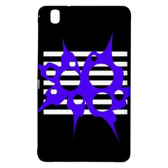Blue abstract design Samsung Galaxy Tab Pro 8.4 Hardshell Case