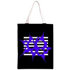 Blue abstract design Classic Light Tote Bag