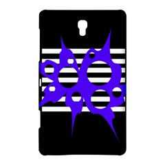 Blue abstract design Samsung Galaxy Tab S (8.4 ) Hardshell Case