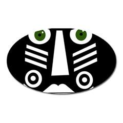 Mask Oval Magnet