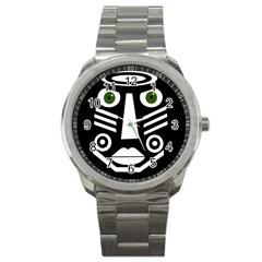 Mask Sport Metal Watch