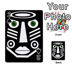 Mask Playing Cards 54 Designs