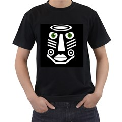 Mask Men s T-Shirt (Black)