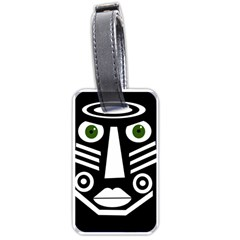Mask Luggage Tags (Two Sides)