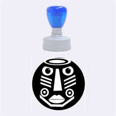 Mask Rubber Round Stamps (Medium)