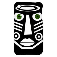 Mask Apple iPhone 3G/3GS Hardshell Case
