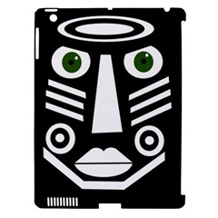 Mask Apple iPad 3/4 Hardshell Case (Compatible with Smart Cover)
