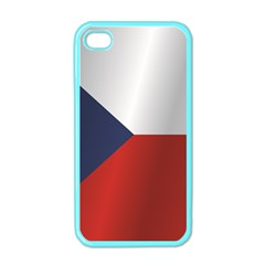 Flag Of Czech Republic Apple iPhone 4 Case (Color)