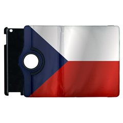 Flag Of Czech Republic Apple iPad 2 Flip 360 Case