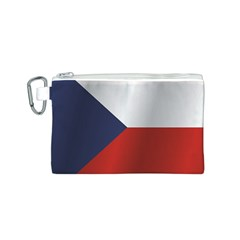Flag Of Czech Republic Canvas Cosmetic Bag (S)