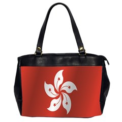 Flag Of Hong Kong Office Handbags (2 Sides)