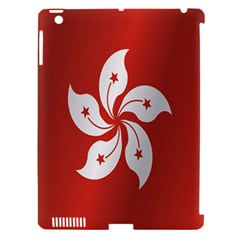 Flag Of Hong Kong Apple iPad 3/4 Hardshell Case (Compatible with Smart Cover)