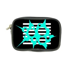 Cyan abstract design Coin Purse