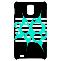Cyan abstract design Samsung Infuse 4G Hardshell Case
