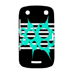 Cyan abstract design BlackBerry Curve 9380