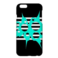 Cyan abstract design Apple iPhone 6 Plus/6S Plus Hardshell Case