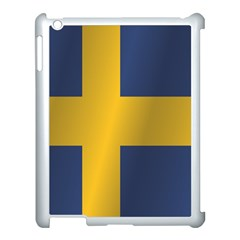 Flag Of Sweden Apple iPad 3/4 Case (White)