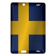 Flag Of Sweden Amazon Kindle Fire HD (2013) Hardshell Case