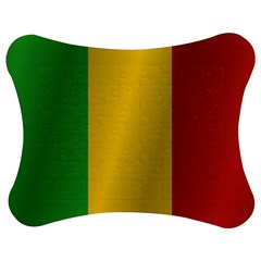 Flag Of Mali Jigsaw Puzzle Photo Stand (Bow)