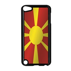Flag Of Macedonia Apple iPod Touch 5 Case (Black)