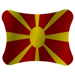 Flag Of Macedonia Jigsaw Puzzle Photo Stand (Bow)