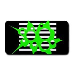 Green abstract design Medium Bar Mats