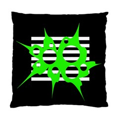 Green abstract design Standard Cushion Case (Two Sides)