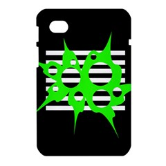 Green abstract design Samsung Galaxy Tab 7  P1000 Hardshell Case