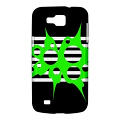 Green abstract design Samsung Galaxy Premier I9260 Hardshell Case