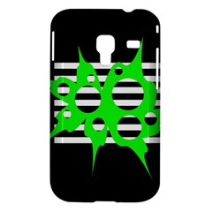 Green abstract design Samsung Galaxy Ace Plus S7500 Hardshell Case