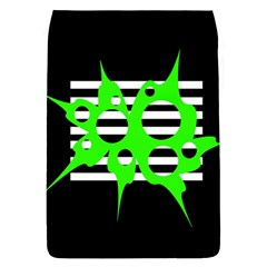 Green abstract design Flap Covers (L)