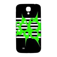 Green abstract design Samsung Galaxy S4 I9500/I9505  Hardshell Back Case